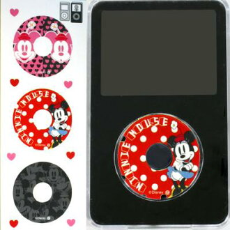 [iPod5G/mini] Disney sticker iCustom 3 pieces set (Minnie )