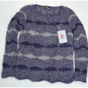 ショッピング毛糸 手編みセーター プルオーバー ハマナカ毛糸
