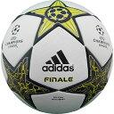 UEFA チャンピオンズリーグ 12-13 公式試合球 フィナーレ 【adidas|アディダス】サッカーボール5号球as5400wl