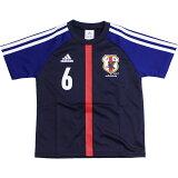 日本代表 2012 ホーム ジュニア ナンバーTシャツ NO.6 【adidas アディダス】サッカー日本代表ウェアーcu390-x49719