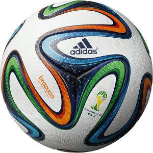 2014FIFAワールドカップブラジル大会公式試合球ブラズーカ【adidas|アディダス】サッカーボール5号球as590