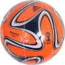 2014 FIFA ワールドカップ ブラジル大会 レプリカフットサルボール 3号球 ブラズーカ フットサル オレンジ 【adidas|アディダス】フットサルボールasf392or