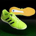 トップサラ 13 ソーラースライム×ブラック 【adidas|アディダス】フットサルシューズf32535