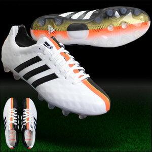 パティーク11プロ-ジャパンHGランニングホワイト×コアブラック【adidas|アディダス】サッカースパイクb26772