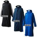 SHADOW ロングボアコート 【adidas|アディダス】サッカーフットサルウェアーjdp34