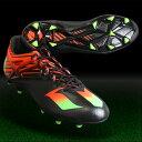 メッシ 15.1 コアブラック×ソーラーグリーン 【adidas|アディダス】サッカースパイクaf4654