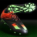 メッシ 15.1 J コアブラック×ソーラーグリーン 【adidas|アディダス】サッカージュニアスパイクaf4656