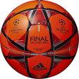 UEFAチャンピオンズリーグ 2015-2016 決勝戦 レプリカ球 フィナーレ ミラノ キャピターノ レッド 【adidas|アディダス】サッカーボール5号球af5401mir