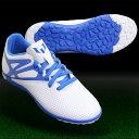 メッシ 10.3 TF J ランニングホワイト×プライムブルーS12 【adidas|アディダス】ジュニアトレーニングシューズb25458