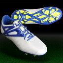 メッシ 10.1 FG/AG/HG J ランニングホワイト×プライムブルーS12 【adidas|アディダス】サッカージュニアスパイクs81491