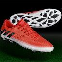 ジュニア メッシ 16.1 FG/AG J レッド×コアブラック 【adidas|アディダス】サッカージュニアスパイクba9142