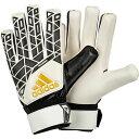 ACE トレーニング ホワイト×ブラック 【adidas|アディダス】サッカーゴールキーパーグローブbpg82-ap7003