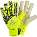 ACE ジュニア ソーラーイエロー×ブラック 【adidas|アディダス】サッカージュニアゴールキーパーグローブbpg85-ap7007