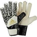 ACE ジュニア ホワイト×ブラック 【adidas|アディダス】サッカージュニアゴールキーパーグローブbpg85-ap7008
