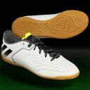 ジュニア エース 16.3 CT J クリスタルホワイトS16×コアブラック 【adidas アディダス】ジュニアフットサルシューズs31943