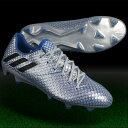 メッシ 16.1 FG/AG シルバーメット×コアブラック 【adidas|アディダス】サッカースパイクs79624