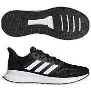 FALCONRUN M コアブラック×ランニングホワイト 【adidas|アディダス】ランニングシューズf36199