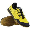 O-Rei Futsal Rodrigo イエロー×チャコール 【ATHLETA|アスレタ】フットサルシューズ11011-yelcha