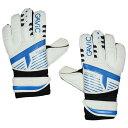 フォーカス 2 ホワイト×ブルー 【GAViC|ガビック】サッカーフットサルゴールキーパーグローブgc1110-whtblu