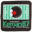 オリジナルミニタオル 【KISHISPO キシスポオリジナル】サッカーフットサルアクセサリーkemari-towel-s