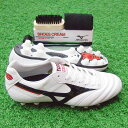 Leak; 2 rear kemari87 original color supermarket white pearl X black [MIZUNO|] Mizuno 】 soccer spikes 12kq-73000