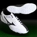 イグニタス 4 AS ホワイト×ブラック 【MIZUNO|ミズノ】サッカーフットサルトレーニングシューズp1gd163209