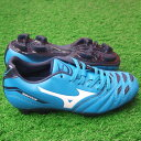 2 イグニタス Jr MD blue X white [MIZUNO|] Mizuno 】 soccer Junius pike 12kp-15501