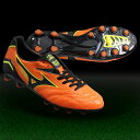 S trailer NEO orange X black [MIZUNO|] Mizuno 】 soccer spikes 12kp-30709