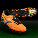 S trailer NEO JR EL orange X black [MIZUNO|] Mizuno 】 soccer Junius pike 12kp-32909