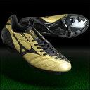 ウエーブイグニタス 3 SL ゴールド×ブラック 【MIZUNO|ミズノ】サッカースパイクp1ga143150