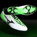 ウエーブイグニタス 3 SL ホワイト×ブラック×グリーン 【MIZUNO ミズノ】サッカースパイクp1ga153137