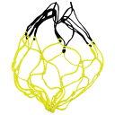 ボールネット 1個入れ レモン×ブラック 【molten|モルテン】サッカーフットサルボールバッグbndl