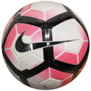 ストライク ホワイト×レーサーピンク 【NIKE|ナイキ】サッカーボール5号球sc2983-185-5