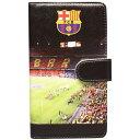 FCバルセロナ 手帳型スマホカバー カンプ・ノウ クラブチームアクセサリーbcn30532