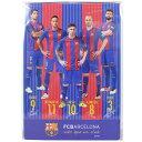 FCバルセロナ 下敷き サッカーフットサルアクセサリーbcn31053