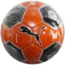 エヴォパワー グラフィック 3 J レッドブラスト×プーマブラック 【PUMA|プーマ】サッカーボール4号球082643-21-4