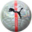 プーマ ワン クローム ボール J プーマホワイト×シルバー 【PUMA|プーマ】サッカーボール4号球082872-01-4