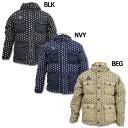 ドットダウンパーカージャケット 【SVOLME|スボルメ】サッカーフットサル防寒ウェアー133-03414