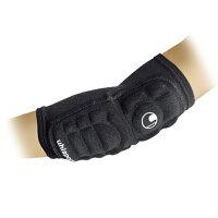 GKエルボーパッド2 2個セット ブラック 【uhlsport:ウールシュポルト】ゴールキーパー用品u1021-20の画像