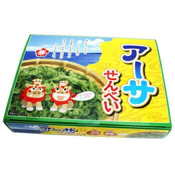 沖縄アーサせんべい(3枚×12袋)の商品画像