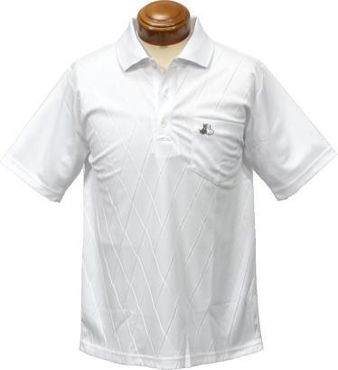 【セール】ブラック&ホワイト メンズ 半袖ポロシャツ 9706GS/XP オンライン UVカット【L】:ケンシマダ【セール】ブラック&ホワイト メンズ 半袖ポロシャツ 9706GS/XP UVカット【L】
