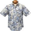 【セール】マックレガー メンズ アロハシャツ 111166307 レインスプーナーreyn supooner半袖シャツ 【L】