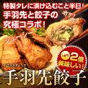 [送料無料][パーティー・クリスマス・お正月]手羽先餃
