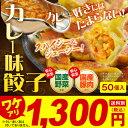 【訳あり】[無くなり次第終了]カレー味餃子(50個入)【5,000円以上お買い上げで送料無料!】
