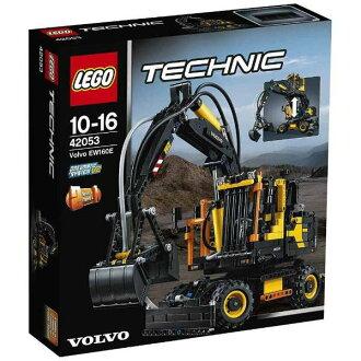 Lego技巧Volvo EW160E 42053 LEGO智育玩具