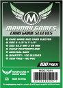 MDG-7041 �����ɥ���� 63.5mmx88mm Card Game Sleeves (Pack of 100)�ڿ��ʡ� �ܡ��ɥ����� �����ɥ����� ���ʥ������� �ơ��֥륲���� �ܥɥ�