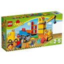 レゴ デュプロ デュプロのまち 工事現場とはたらく車 10813【新品】 LEGO 知育玩具 【宅配便のみ】の画像