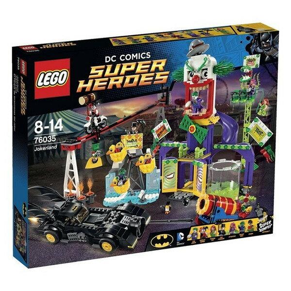 レゴ スーパー・ヒーローズ ジョーカーランド 76035【新品】 LEGO MARVEL 知育玩具 【宅配便のみ】