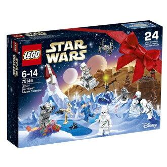 樂高星球大戰 LEGO® 星球大戰來臨日曆 75146 樂高星球大戰益智玩具