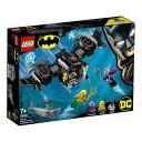 レゴ スーパー・ヒーローズ バットマン(TM) バットサブの水中バトル 76116 LEGO MARVEL 知育玩具